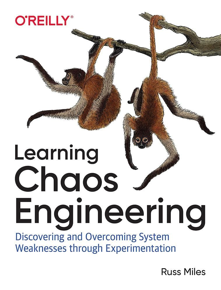 Cover of the book Learning Chaos Engineering by Russ Miles